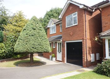 Thumbnail 4 bed detached house for sale in Baskeyfield Close, Lichfield