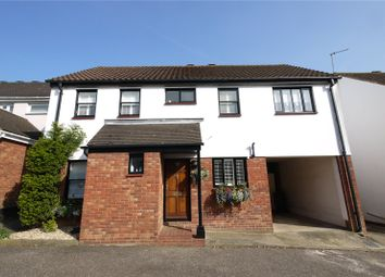 Thumbnail 4 bedroom detached house for sale in Battle Court, Ongar, Essex