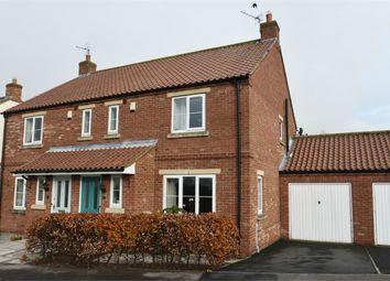 Thumbnail 3 bed semi-detached house for sale in Vicarage Farm Close, Sherburn, Malton