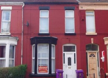 Thumbnail 3 bed terraced house to rent in Alderson Road, Wavertree, Liverpool