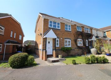 Thumbnail 3 bed semi-detached house for sale in Wishart Way, Pewsham, Chippenham