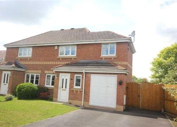 Thumbnail 3 bedroom semi-detached house for sale in Crossbrook Way, Milnrow, Rochdale