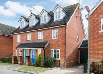 Thumbnail 4 bed semi-detached house for sale in Knights Mead, Lingfield, Surrey