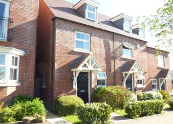 Thumbnail 3 bed end terrace house for sale in Dunbar Way, Ashby-De-La-Zouch, Leicestershire