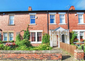 Thumbnail 3 bed terraced house for sale in Gordon Avenue, Gosforth, Newcastle Upon Tyne