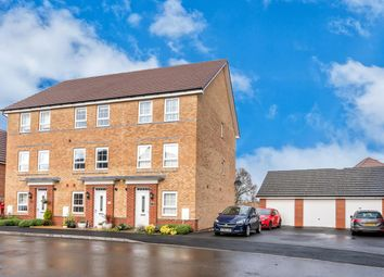 Thumbnail 4 bed town house for sale in Buckmaster Way, Rugeley