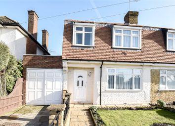 Thumbnail 3 bed semi-detached house for sale in Oxford Gardens, Denham, Uxbridge, Middlesex
