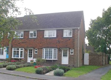 Thumbnail 3 bedroom end terrace house to rent in Timberlands, Storrington