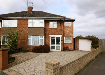 Thumbnail 3 bed semi-detached house for sale in Rathbone Close, Hillmorton, Rugby