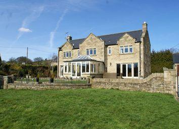 Thumbnail 4 bed detached house for sale in Ashover Road, Kelstedge, Derbyshire