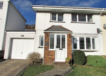 Thumbnail 3 bedroom semi-detached house for sale in Hays Crescent, Glynneath, Neath, Neath Port Talbot.