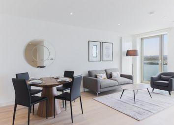 Thumbnail 2 bedroom flat for sale in Thameside House, Royal Wharf, London