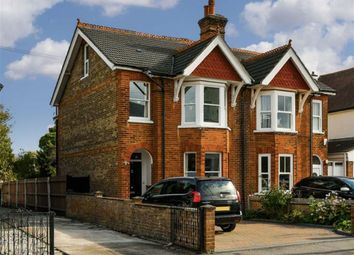 Thumbnail 3 bed semi-detached house for sale in Temple Road, Epsom, Surrey