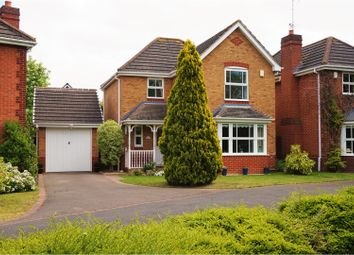 Thumbnail 3 bed detached house for sale in Medway Road, Evesham