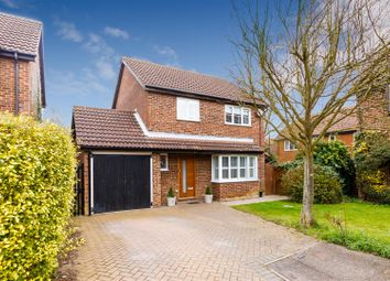 Thumbnail 4 bed detached house for sale in Unwin Close, Letchworth Garden City