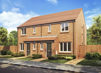 "Thumbnail 3 bed semi-detached house for sale in ""The Hanbury"" at Appleford Road, Sutton Courtenay, Abingdon"
