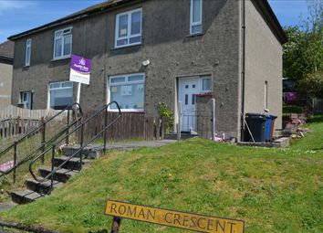 Thumbnail 3 bed semi-detached house for sale in Roman Crescent, Old Kilpatrick, Glasgow