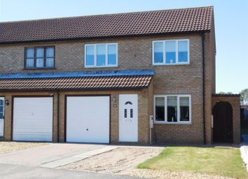 Thumbnail 3 bed semi-detached house for sale in Corden Close, Skegness, Lincs