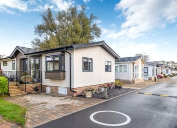 Thumbnail 2 bed mobile/park home for sale in Lechlade Court, Faringdon Road, Lechlade, Gloucestershire