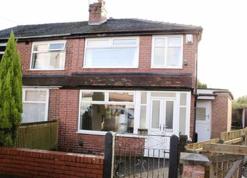 Thumbnail 2 bedroom semi-detached house for sale in Boswell Avenue, Audenshaw, Manchester