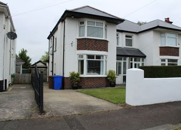 Thumbnail 3 bed semi-detached house to rent in Kingsway Avenue, Belfast