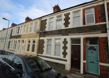 Thumbnail 3 bed terraced house for sale in Railway Street, Splott, Cardiff