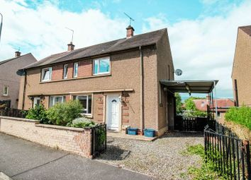 Thumbnail 2 bed semi-detached house for sale in Woodside Terrace, Clackmannan