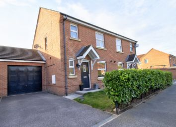 Thumbnail 3 bed semi-detached house for sale in Station Road, Hambleton, Selby