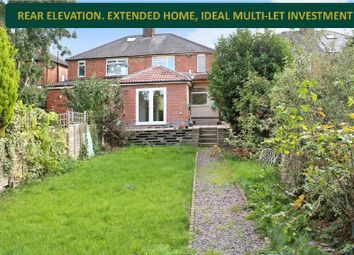 Thumbnail 4 bedroom semi-detached house for sale in Stanfell Road, Knighton, Leicester