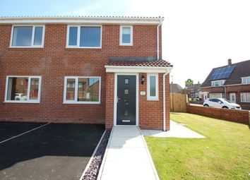 Thumbnail 3 bed semi-detached house for sale in Sunrise Court Cranleigh Road, Hylton Castle, Sunderland