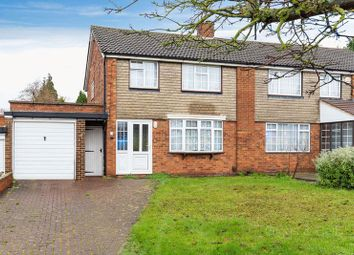 Thumbnail 3 bedroom semi-detached house for sale in Chestnut Avenue, Luton