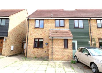 Thumbnail 3 bed semi-detached house to rent in Bacons Yard, Ashwell, Baldock