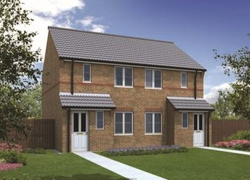 "Thumbnail 2 bed terraced house for sale in ""The Askham"" at Bawtry Road, Bessacarr, Doncaster"