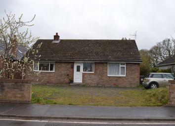 Wood Lane, Hinstock, Market Drayton TF9. 4 bed detached bungalow for sale