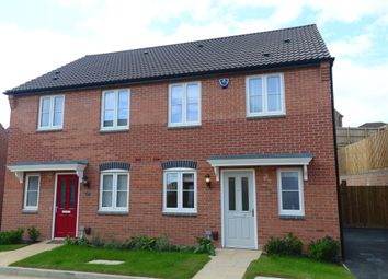 Thumbnail 3 bedroom semi-detached house for sale in Moira Road, Ashby-De-La-Zouch