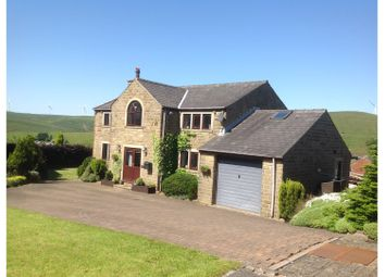 Thumbnail 4 bed detached house for sale in Sourhall Court, Todmorden