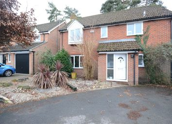 Thumbnail 4 bed detached house for sale in Longmead, Fleet, Hampshire