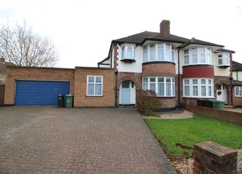 Thumbnail 3 bed semi-detached house to rent in Woodlands Avenue, Worcester Park
