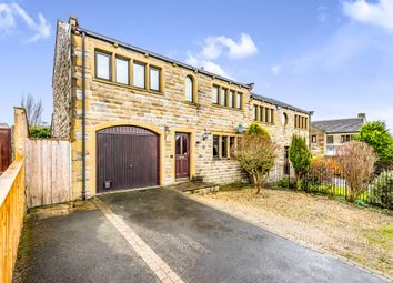 Thumbnail 3 bed semi-detached house for sale in Sheardale, Honley, Holmfirth