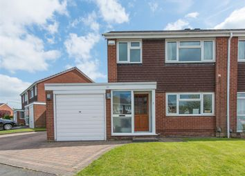 Thumbnail 3 bed semi-detached house for sale in Saxon Wood Road, Shirley, Solihull