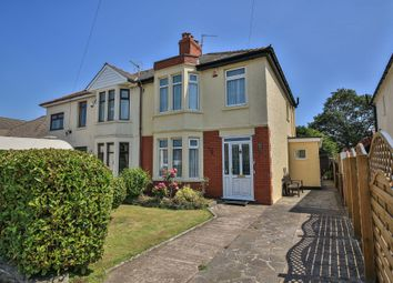 Thumbnail 3 bed semi-detached house for sale in Heath Park Avenue, Heath, Cardiff