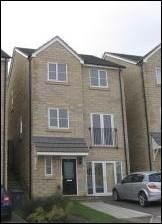 Thumbnail 4 bed detached house to rent in High Bank Crescent, Darwen