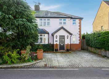 Thumbnail 3 bed semi-detached house for sale in Mill Road, Stock, Ingatestone, Essex