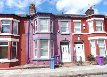 Thumbnail 4 bed terraced house for sale in Egerton Road, Wavertree, Liverpool