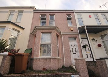 Thumbnail 4 bedroom terraced house to rent in Gifford Terrace Road, Mutley, Plymouth