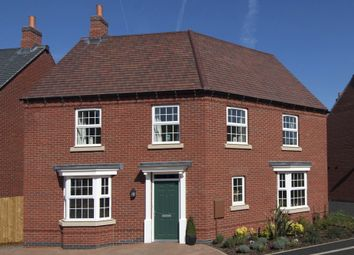 "Thumbnail 4 bedroom detached house for sale in ""Ashtree"" at Atherstone Road, Measham, Swadlincote"