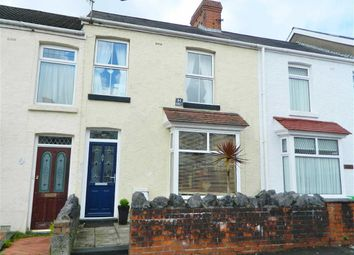 Thumbnail 3 bed terraced house for sale in Manor Road, Manselton, Swansea