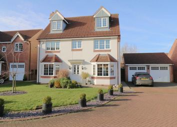 Thumbnail 5 bed detached house for sale in Brock Close, Epworth, Doncaster