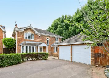 Thumbnail 4 bed detached house for sale in Bramble Gardens, Burgess Hill