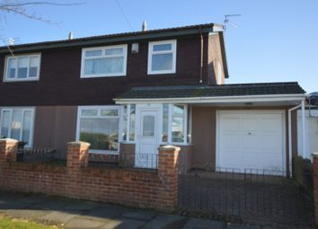 Thumbnail 3 bed semi-detached house for sale in Kirkheaton Place, Fenham, Newcastle Upon Tyne